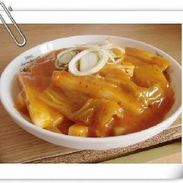 韩国料理之韩式炒年糕