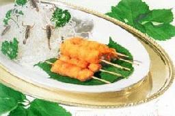 椰蓉鮮貝串