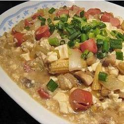 粒粒杂粮烩豆腐