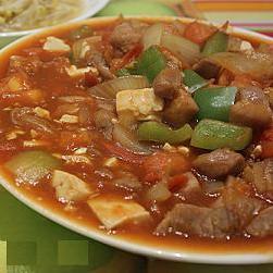 茄皇肉粒燴豆腐