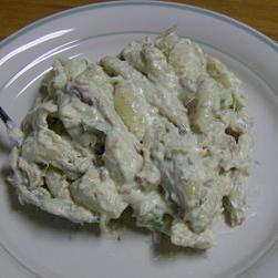 奶油螃蟹意粉沙拉