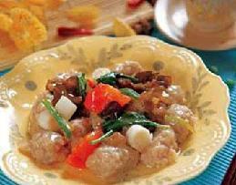 雞汁玉翠魚丸