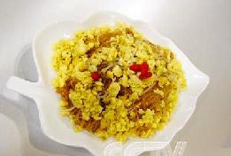 桂花虾米炒粉丝
