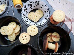 奶油奶酪鈕扣餅干