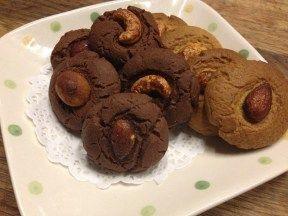 【吳雙の親子甜點】巧克力&抹茶堅果餅干