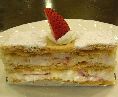 拿破仑蛋糕