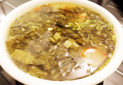 酸菜土豆湯