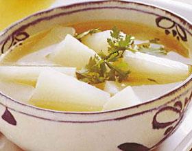 白水蘿卜湯