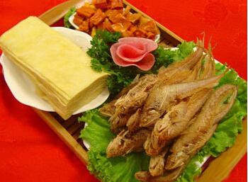 清炸黃河刀魚