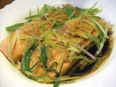 清蒸三文魚