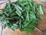 海腸炒韭菜