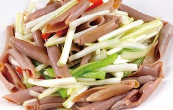 韭菜炒海腸子