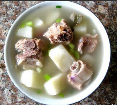 松茸鴿子湯