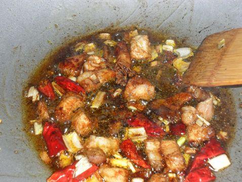 豬肉土豆燉粉條