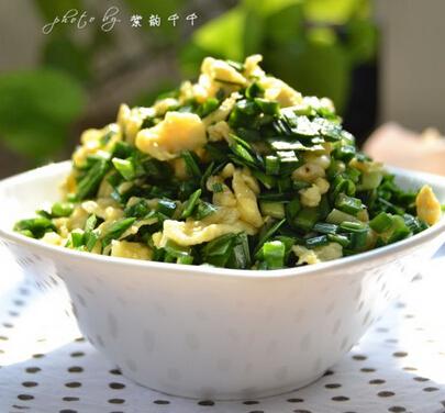 韭菜雞蛋餃子餡