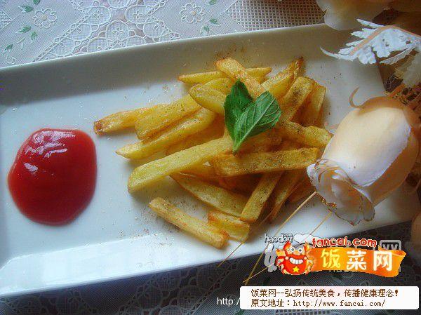 自制KFC土豆条