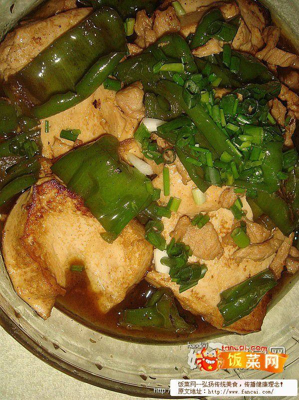 辣椒炖豆腐