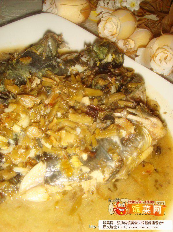 咸菜炖汪刺鱼