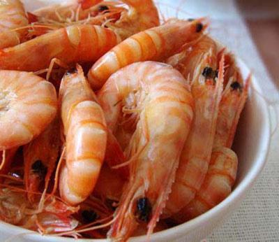 清蒸基圍蝦